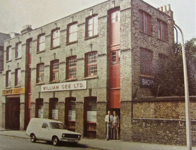 The warehouse round the corner on Forest Road - not much has changed since the 1970s