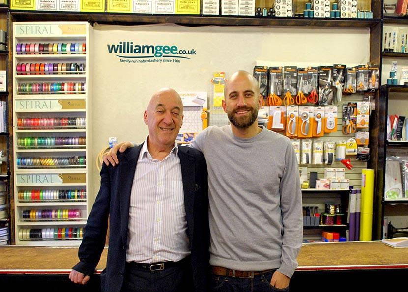William Gee co-Directors Jeffrey (left) and Adam Graham