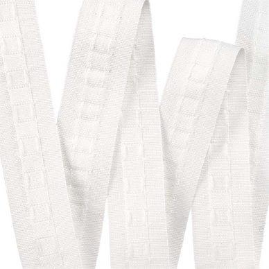 28mm curtain headed tape - William Gee UK