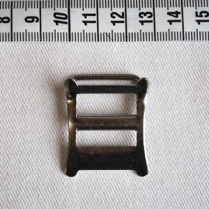 543 Rokko Buckle 19mm - Nickel Plated - Front View