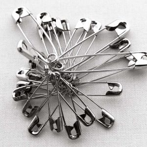 Countess Safety Pins - William Gee Haberdashery UK