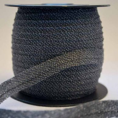 Vilene Bias Tape - Charcoal