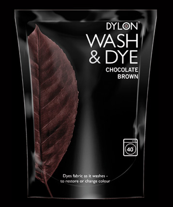 Dylon Wash and Dye - Chocolate Brown - William Gee