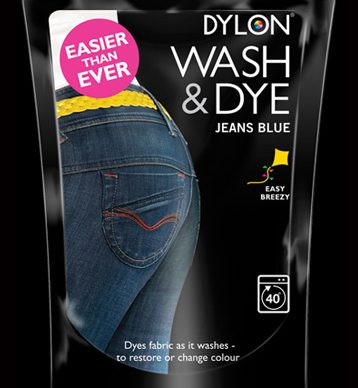 Dylon Wash and Dye - Jeans Blue - William Gee