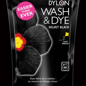 Dylon Wash and Dye - Velvet Black - William Gee