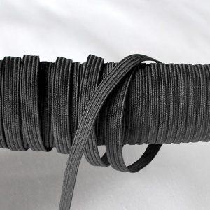 Flat Elastic in Black