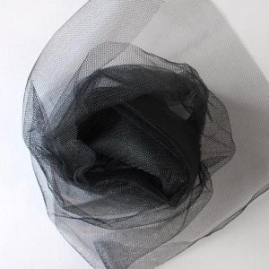 Nylon Dress Net - Black