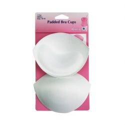 Padded Bra Cups - Small - 10-12 - White Colour
