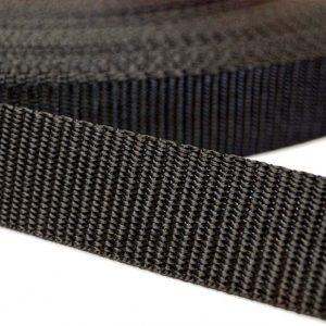 Polypropylene Webbing - Black