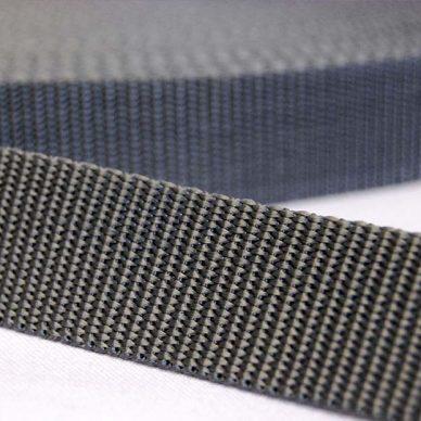 Polypropylene Webbing - Grey