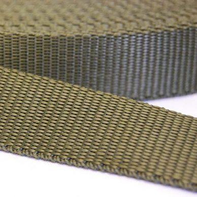 Polypropylene Webbing - Olive Green