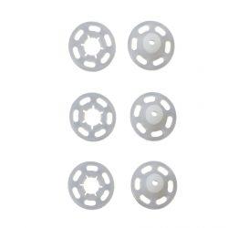 Prym Transparent Plastic Snap Fasteners close up- William Gee