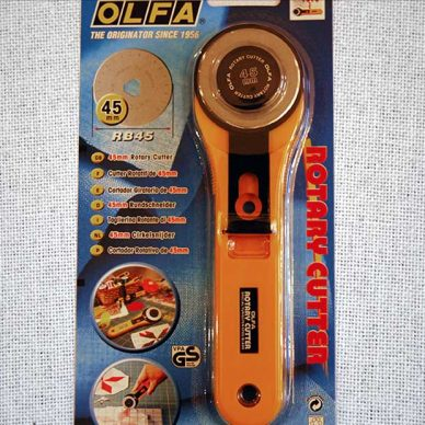 Olfa Rotary Cutter - large 45mm