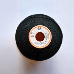 Shirring Elastic Label - Black