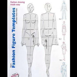 Shoben Fashion Figure Templates