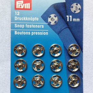 Snap Fasteners - Silver