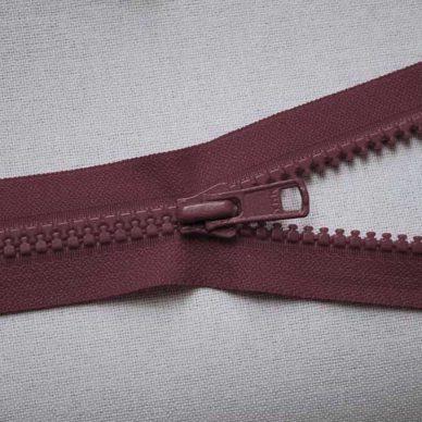 VSO56 colour 527 burgundy YKK Zip
