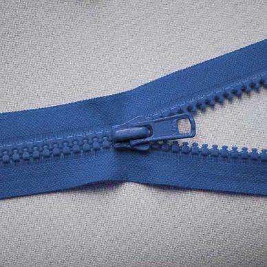VSO56 colour 557 blue YKK Zip