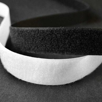 Velcro Loop in Black and White - William Gee