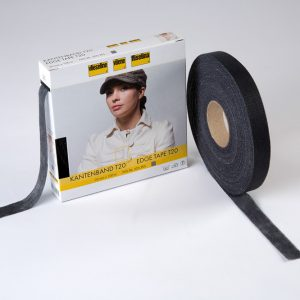 Vilene Edge Tape - Charcoal - 100m
