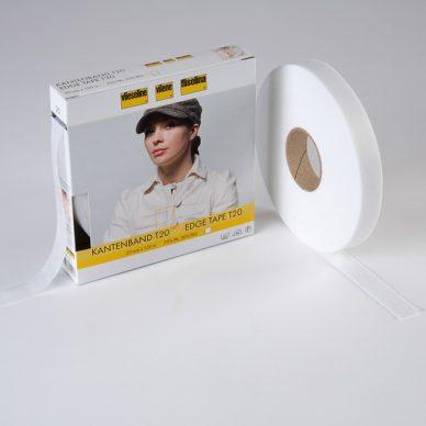Vilene Edge Tape - White - 100m