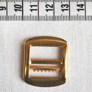 Waistcoat 525 Buckle 19mm - Brass Gold