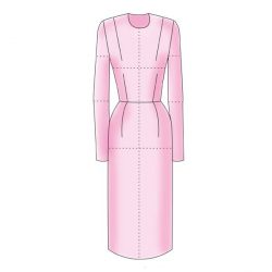 Women's Dress Block - Figure 1