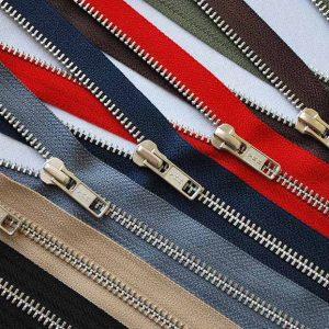 All Metal Zips