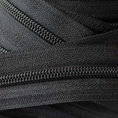 YKK Nylon Zip Chain No.5 - Black