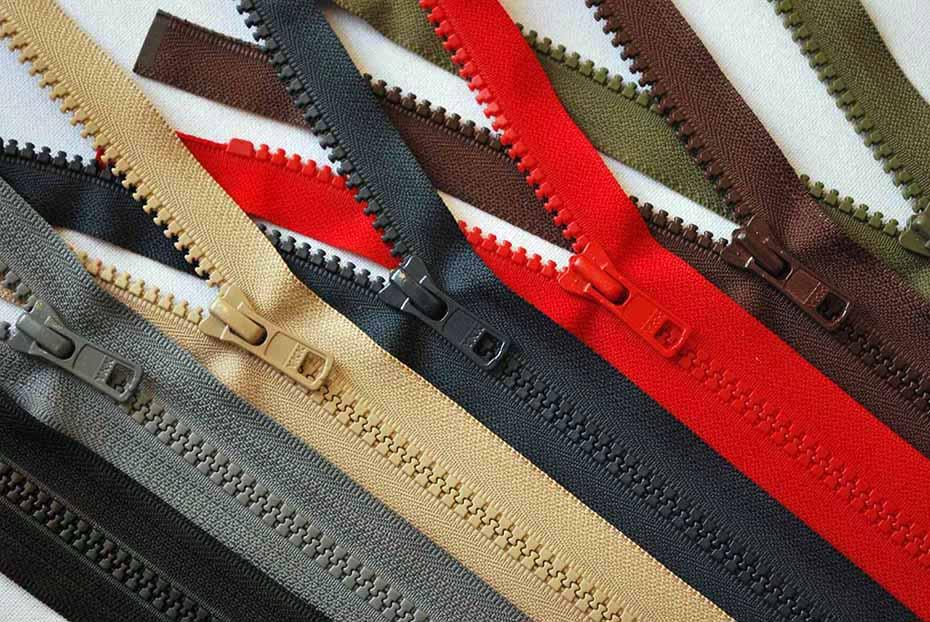 YKK Chunky Open Ended Zip Black 56cm
