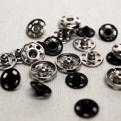 snap fasteners - metal