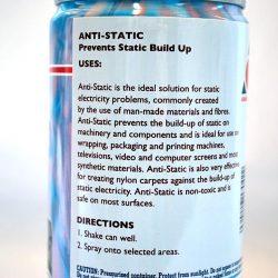 Anti Static Spray - back cover