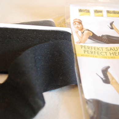 Perfect Hem T40 Tape - Black