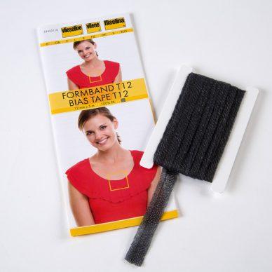 Vilene Bias Tape - Charcoal