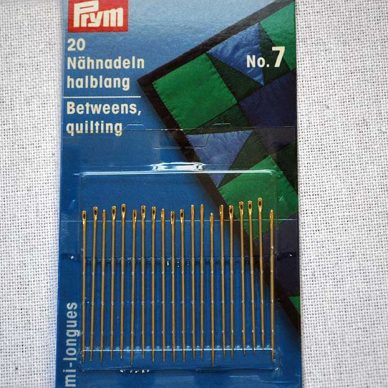 Prym Demi Longues Betweens Quilting