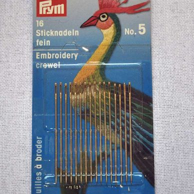 Prym Embroidery Crewel Needles
