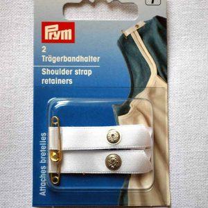 Prym Shoulder Strap Retainers - White