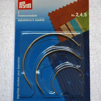 Prym Upholsterer's Needle - Curve Repair