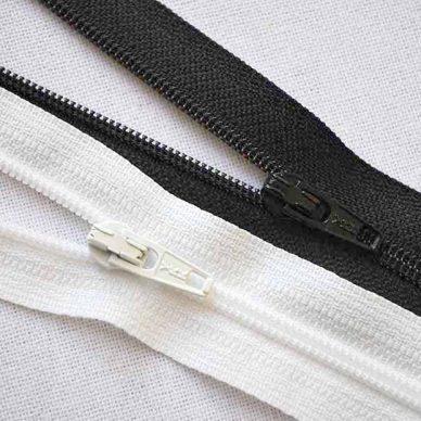 YKK CFC36 Flat Nylon Zips