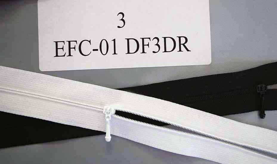 YKK EFC-01 DF3DR Zip