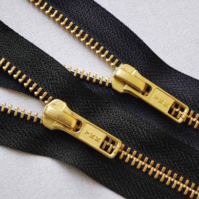YKK RGC56 Gold Closed End Jean Zips