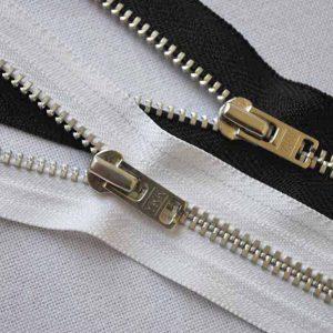 YKK YARN36 Silver Closed End Jean Zips