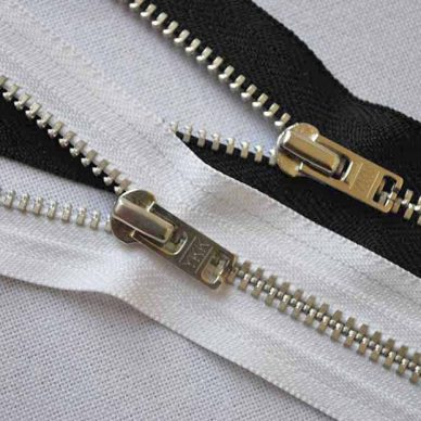 YKK YARN36 Silver Closed End Jean Zips