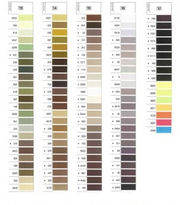 Gutermann Mara Shade Card 4