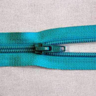 YKK CNFOR No. 5 Open Ended Nylon Zip - Aqua