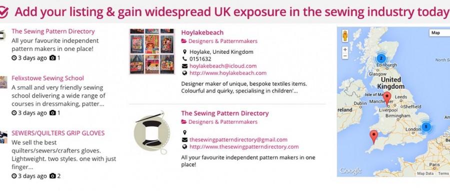 UK Sewing Directory 2015