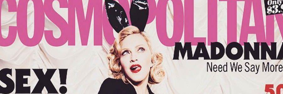 Madonnas 50th Anniversary Cosmopolitan Magazine Empowers Women