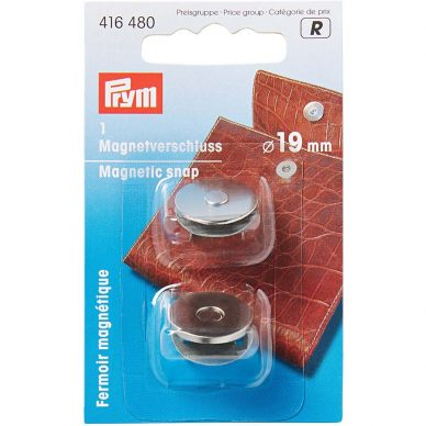 Prym Magnetic Snaps Silver 416480 - William Gee UK
