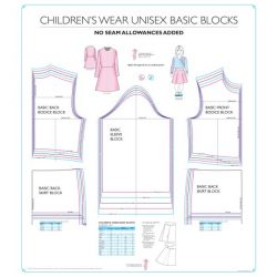 Childrenswear Unisex Basic Blocks - Chart 7