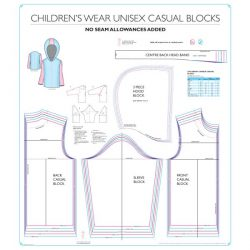 Childrenswear Unisex Casual Blocks - Chart 8